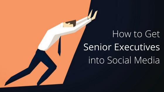 executives social media