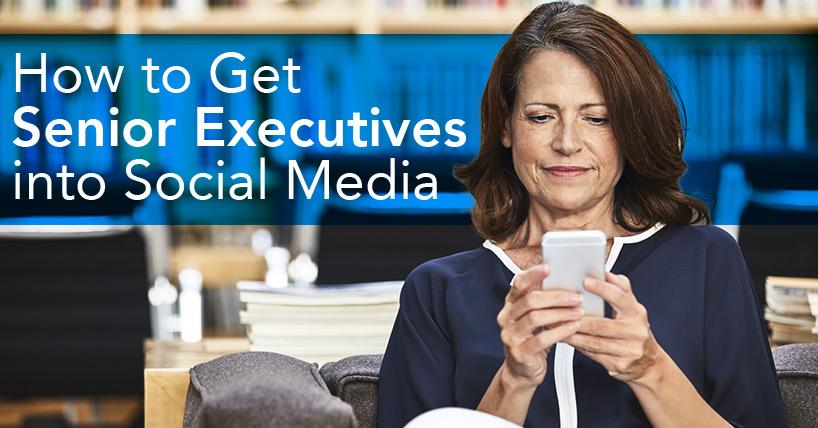 csuite ceo leaders social media