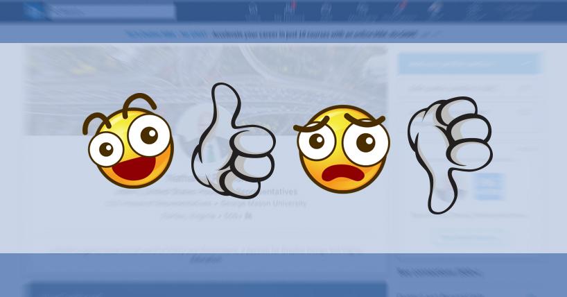 Emojis in LinkedIn Profiles