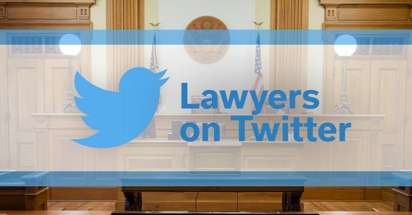 Lawyers on Twitter