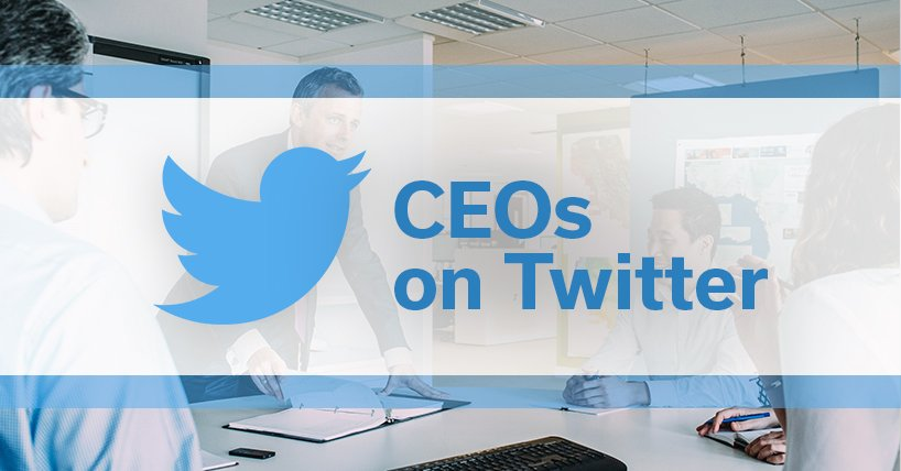 CEO's on Twitter