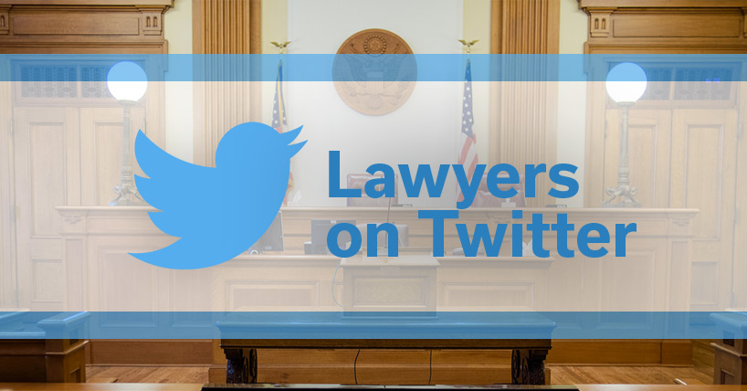 Lawyers on Twitter