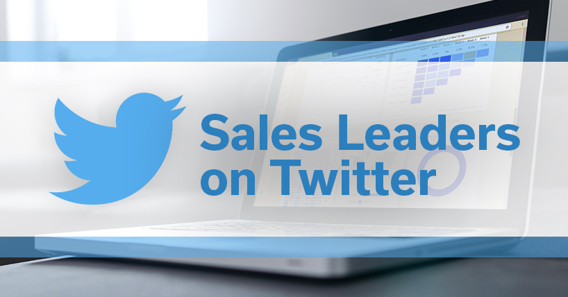 Excellent Twitter Examples: Sales Leaders