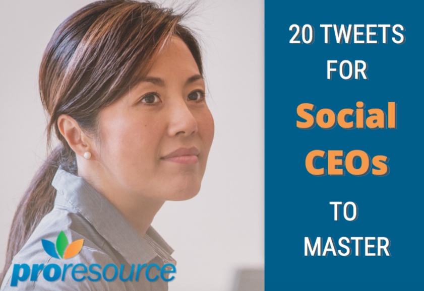 20 Tweets For Social CEOs To Master