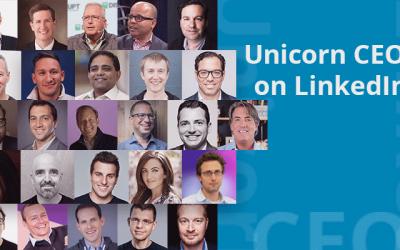 Unicorn CEOs on LinkedIn: Who's Leading, Who's AWOL