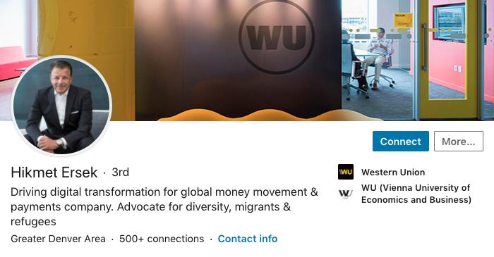 CEOs on LinkedIn