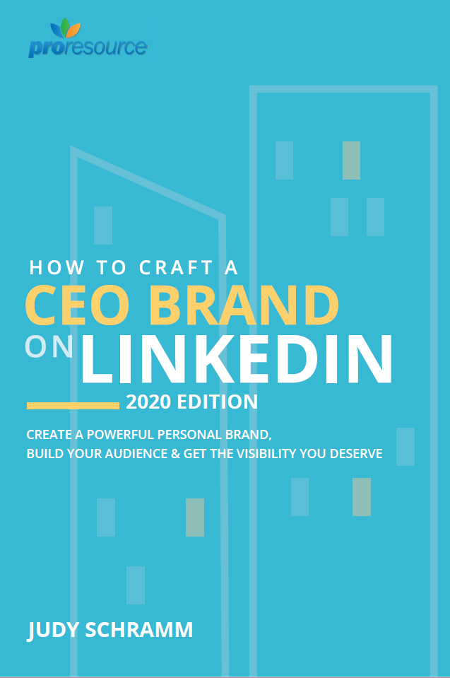 Book cover - How to craft a CEO Brank on LinkedIn 2020 Edition