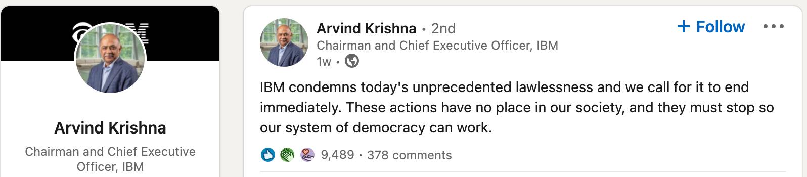 Arvind Krishna