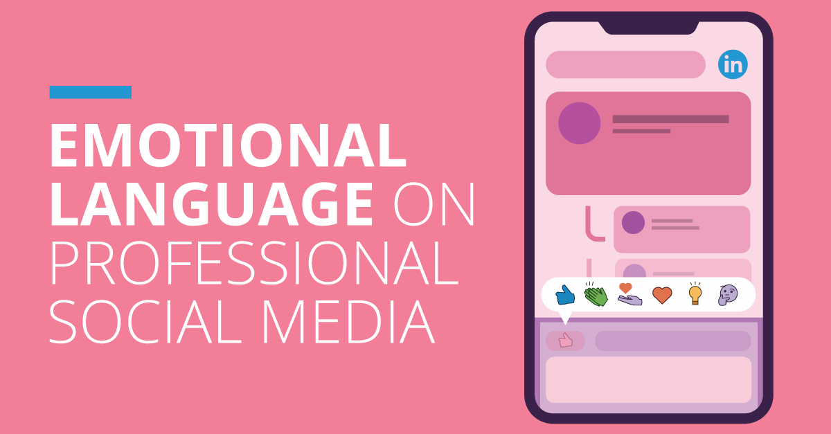 Emotional Language on Professional Social Media